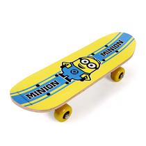 小黄人迷你神偷奶爸双翘实木儿童滑板XCD71147