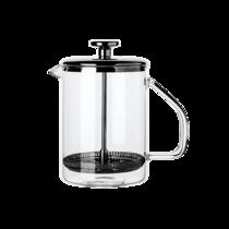 网易严选高硼硅耐热玻璃法压壶