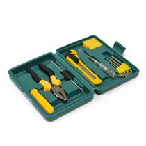 立创精品家用工具12件套装家用五金组合工具箱车载维修工具箱LC8012E