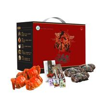 【追时令】众澄蟹399型大闸蟹礼盒套餐6只装提货卡