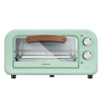康佳KONKA电烤箱家用12L多功能迷你烘焙小烤箱KAO-1202E(S)L