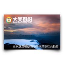 大美摄影:王永辉滤镜使用心得视频课程兑换券
