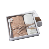 洁丽雅竹影毛巾礼盒2