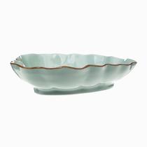 【颜值好物】Evergreen爱屋格林美式陶瓷叶片造型盘3ESR003