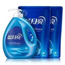 蓝月亮风清白兰手洗洗衣液6斤套装80000252