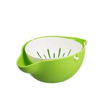 茶花水果盆洗菜篮柠檬沥水盆C36007颜色随机发