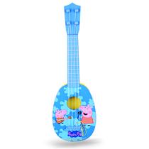 贝芬乐小猪佩奇的吉他尤克里里(中号)玩具99042蓝色