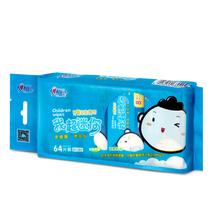 心相印儿童湿巾我超迷你水果味湿巾纸便携随身装迷你小包XEA008P1-1(8片x8包x1提)