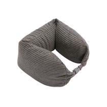 名创优品(MINISO)面包粒子枕U型枕办公室午睡枕出差旅行多功能护颈(颜色随机)