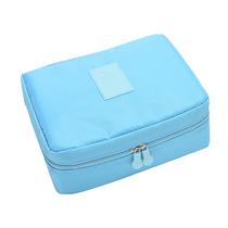 秀乐途(surelaptop)洗漱收纳袋李箱衣物整理袋旅行居家收纳包6件套装颜色随机