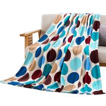 禧尔家纺亲肤毯午睡毯盖毯花型随机70x100cm