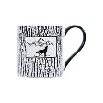 【换季惠】【携程优品】黑白动物炻瓷马克杯(颜色随机发货)-51679